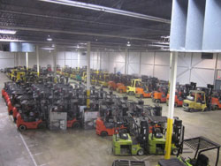 Somerset Equipment Sales Packed Warehouse